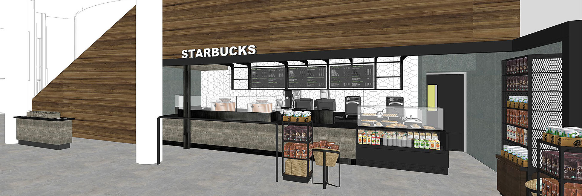 Starbucks Planned In New Digital Classroom Building