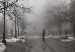 fog and slush