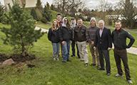 Presidential Tree Planting