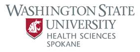 WSU Spokane Health Science logo