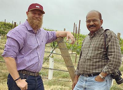 Andrew Schultz and Naidu Rayapati