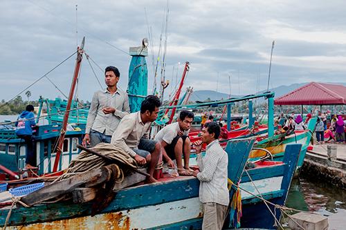 Cham Muslim Fisherman, Kampot, Cambodia