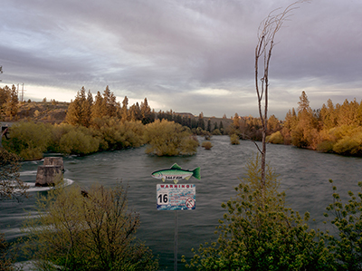 Warning – sewage overflow warning on the Spokane River