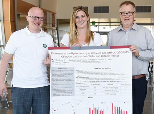 WSU distilled spirits evaluation research team