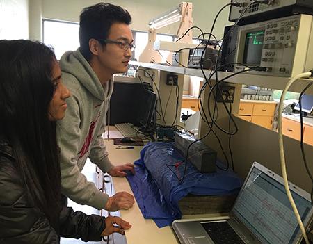 WSU phd students Ayumi Kalpana Manawadu- Zhidong Zhou