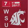 WSU-license plate