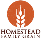 homestead family grains logo