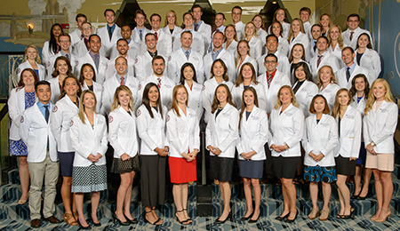 2017 Elson S Floyd College of Medicine class photo.