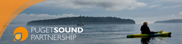puget sound partnership logo kayak