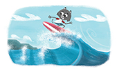 surfing Dr Universe