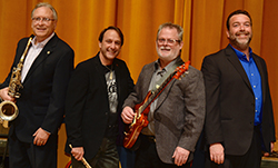 Gator Tail performs as part of the Faculty Artist Series Sept.12.