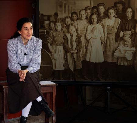 """Scene from """"Klondike"""" by Living Voices at Jones Theatre Oct. 14"""