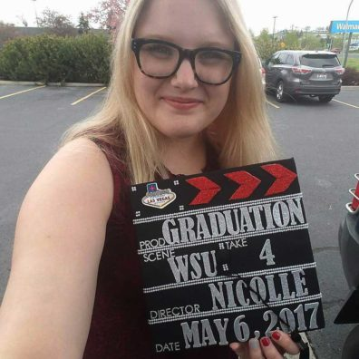 Nicolle Peterson aspires to become a Hollywood film editor.