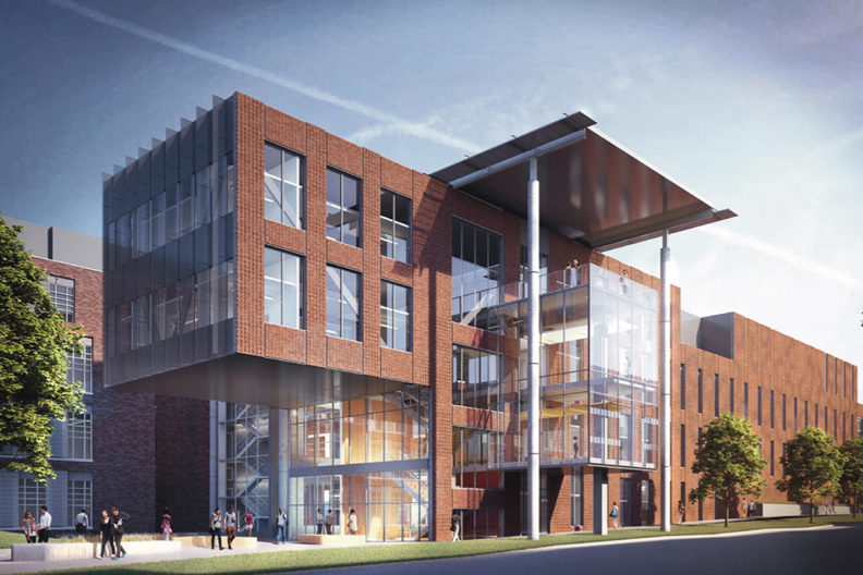 Rendering of Plant Sciences Building.