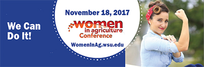 women in ag conference banner