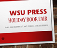 Holiday Book Fair banner