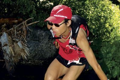 Ultramarathoner Di Wu is running the trails