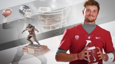 Graphic of Luke Faulk and Burlsworth Trophy