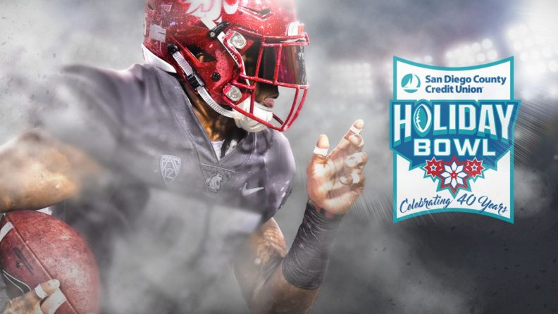 WSU will face Michigan State in the San Diego County Credit Union Holiday Bowl, Thursday, Dec. 28, at 6 p.m.