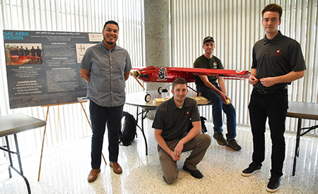 WSU Tri-Cities Undergrad Research Symposium and Art Exhibit features a broad spectrum of projects by students.