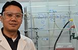 Xian Ming WSU chemist in lab