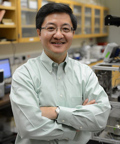 Wang helps design catalyst capable of reducing pollutants at today's lower engine temperatures, as published in the journal Science.