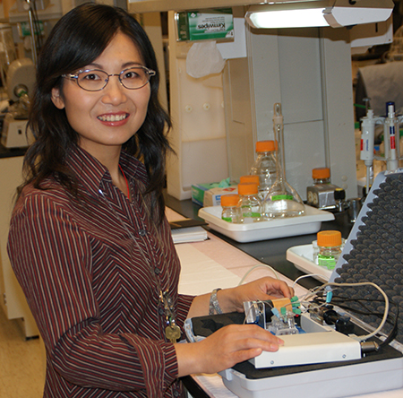 Annie Du, research professor in WSU's School of Mechanical and Materials Engineering