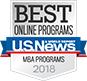 U.S. News Online Program Badge