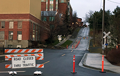 College Ave Closure