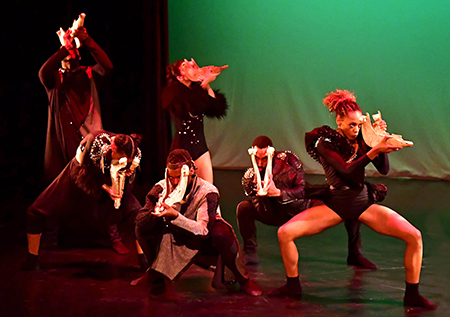 "Cleo Parker Robinson Dance troop to perform ""Mictlan"" Feb. 10 at WSU Jones Theatre."