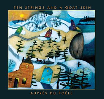 Award-winning Auprès du Poêlej album cover.