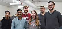 WSU Tri-Cities concrete research team
