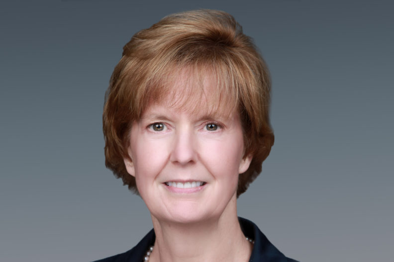 Sue Clark in profile