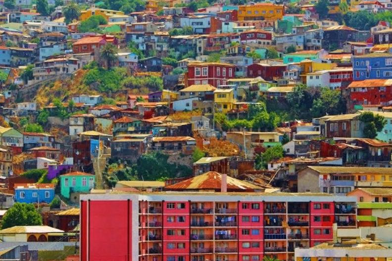 Chile building landscape