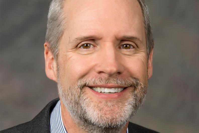 Bruce Pinkleton in profile