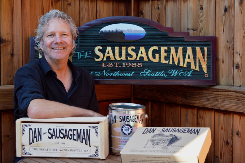 Dan House, aka Dan the Sausageman, grows from door-to-door sales, to thriving online businessman, property developer, and Burien, Wash., community supporter.