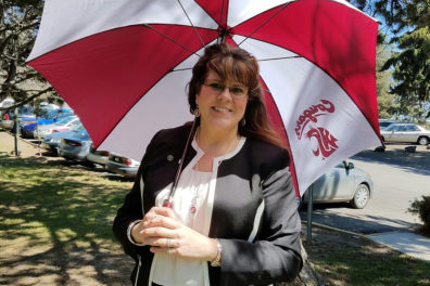 Teri Hansen, WSU commencement operations manager