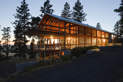 Mountain House, designed by Paul Hirzel
