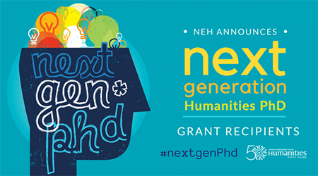 Next Generation Humanities PhD banner