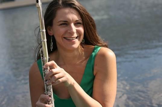 Sophia Tegart WSU assistant professor of flute