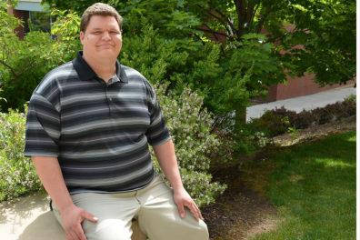 Greg Urquhart, winner of the Karen P. DePauw Leadership Award