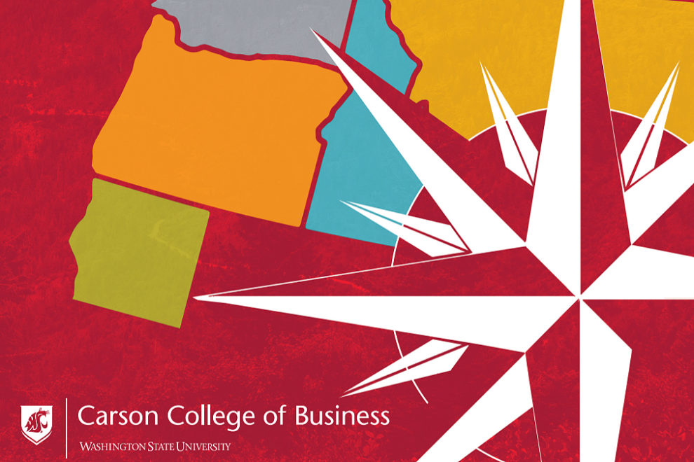 Carson College's report cover for Business in the Northwest 2018