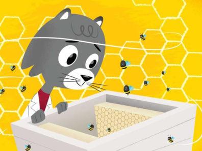 Dr. Universe cartoon figure