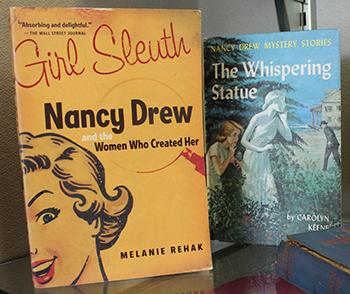 Nancy Drew book covers.