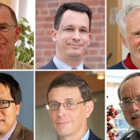 Closeups of Browse, Van Dongen, Kohler, Smerdon, Roll and Lin.
