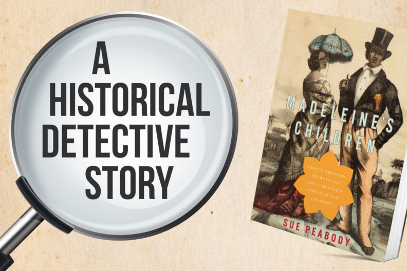 A Historical Detective Story featuring the book cover of 'Madeleine's Children'.