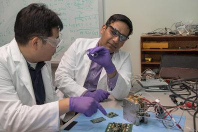 Su Ha and Subhanshu Gupta look at micro electronics.
