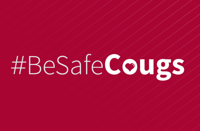 Be Safe Cougs.