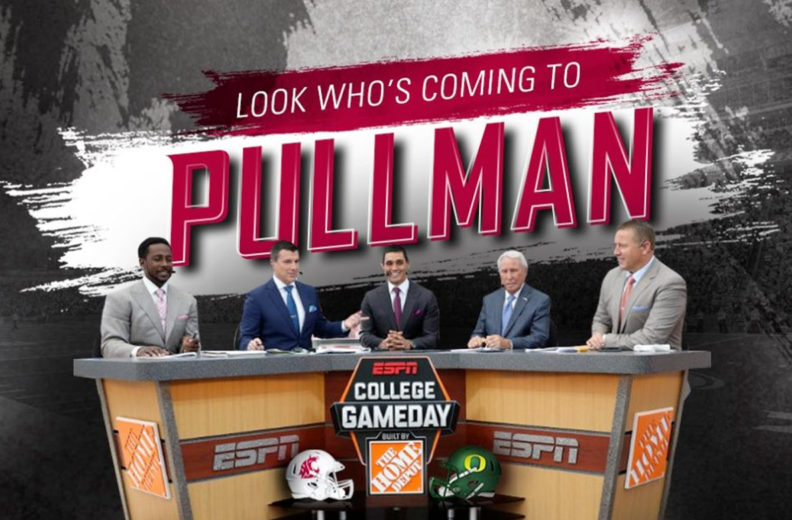 College GameDay cast announces that they are coming to Pullman.