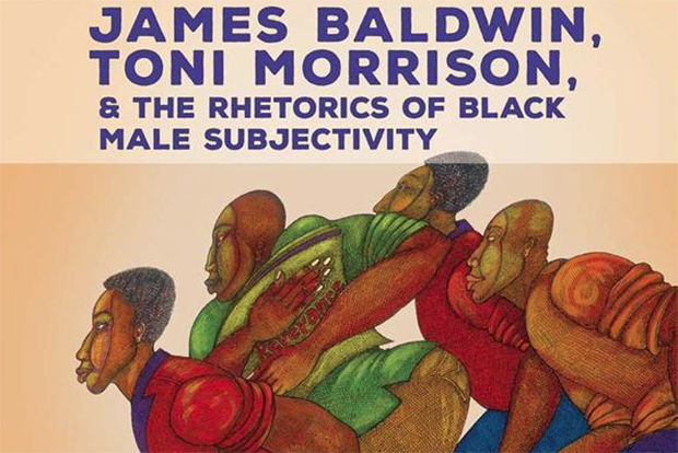 'James Baldwin, Toni Morrison and the Rhetorics of Black Male Subjectivity' book cover.